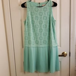 Loft Seafoam Green Dress Flapper Size 6